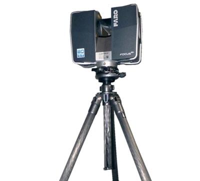 Faro Focus 3D scanner huren statief