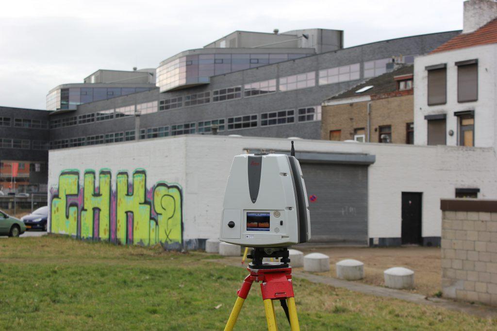 Leica 3D laser scanner P40