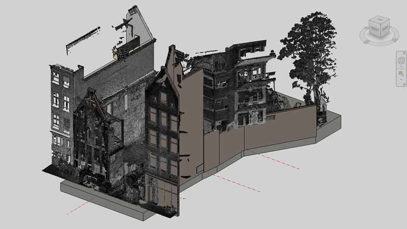 3d modelleren point cloud laserscanservice for 3d tekenprogramma