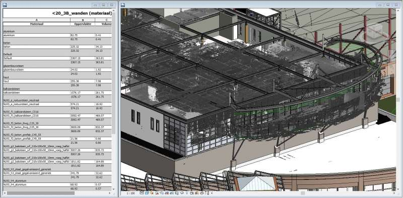 scan to bim met point cloud