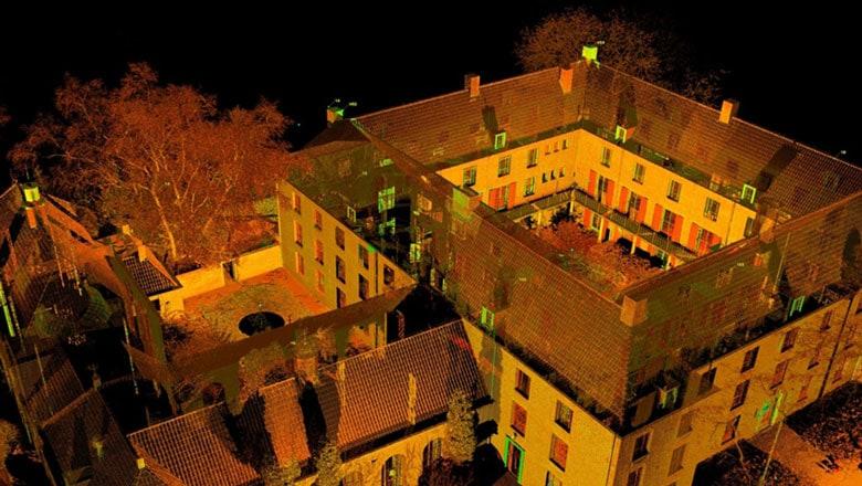 ruwe scandata 3d laserscannen