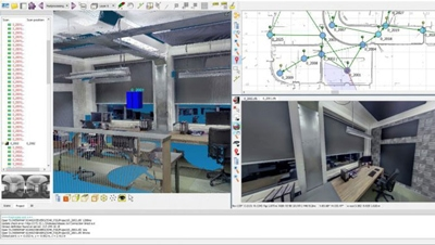 voorbeelden 3d viewers van laserscan pointcloud